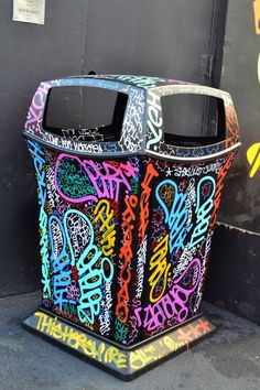 1000 Images About Creative Trash Cans On Pinterest