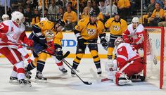 Experience one game from all sports - Preds vs. Red Wings Playoff Game on April 20th DONE