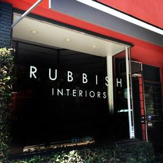 Rubbish Interiors in Silver Lake brings Hollywood glamour to interior design projects, like Rubies + Diamonds café, around the Los Angeles-area.