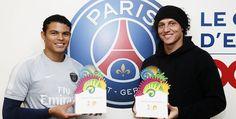 David Luiz e Thiago Silva