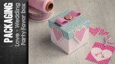 Love Box - Party Favor Box using Sizzix Big Shot Plus Starter Kit