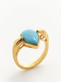 Cleopatra Turquoise Ring
