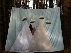 """""""Un bosque de tela"""" fondo para photocall handmade Fueron Felices bodas"""