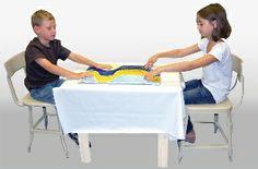 Sensory Stimulation Wavy Activity Tray - For Two   Vendor: CGB Rehab   $62.50