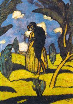 Farkas Béla, Kettesben - csók (Szerelmesek), 1923