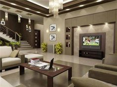 home living room design decorating your design of home with cool cute home design LSAQKOI - Home Decor Ideas Living Room Tv, Living Room Modern, Home And Living, Living Room Designs, Living Area, Cozy Living, Luxury Living, Home Interior Design, Kitchen Interior