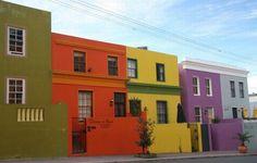El Blog De Tuico: Casas Coloridas (ciudad del cabo - Sudafrica)