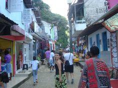 Calles de Morro do Sao Paulo Street View, World, Bahia, Places, Spaces, Street, Islands