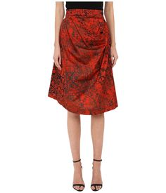 Vivienne Westwood Anglomania Survival Skirt Orange - Zappos Couture
