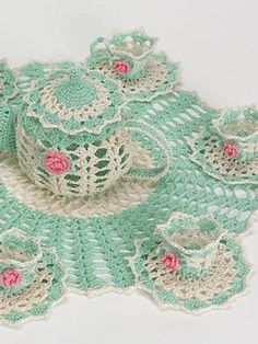 Ravelry: Tea Party Doily pattern by Elizabeth Ann White