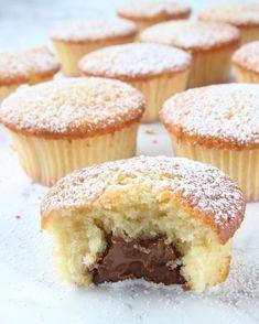 Muffins med chokladgömma