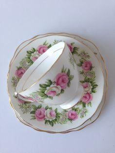 Very pretty vintage Colclough bone china by TheStormAndTeacup