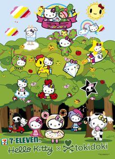 Hello Kitty + Tokidoki + 7-Eleven