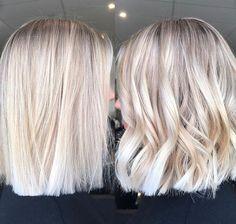 Straight or Curls ❤️ @hairbykaitlinjade @hairandharlow #hairandharlowblondes #hairbykaitlinjade #behindthechair