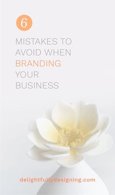 Branding your business doesn't have to take years off your life. Learn how to do it successfully! // Delightfully Designing