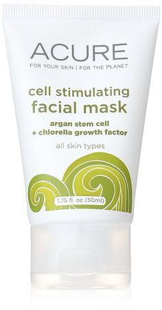 Facial Mask CGF   Argan Stem Cell   2% Chlorella, 1.7 fl oz >>> Additional details at the pin image, click it  : essential oils