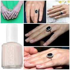 """Kate middleton ' s nail care :: Catherine's nails are a simple, refreshing change. """"Neutral nail polishes are a safe and sophisticated choice for nails, especially for Kate,"""" explains celebrity manicurist Ashlie Johnson, who works with Reese Witherspoon and Jennifer Aniston. """"Middleton's nails are clean and fresh, and won't draw attention away from her Royal duties, or her fabulous wardrobe!"""" Kate Middleton enjoyed a bridal pampering session at Clarence House before her wedding courtesy of…"""