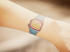 :: 'forever late' watch tattoo :: hilarious.