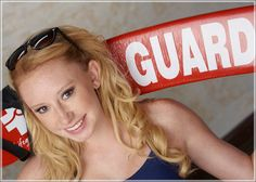 Finally a DECENT lifeguard senior pic! We might be doing this...