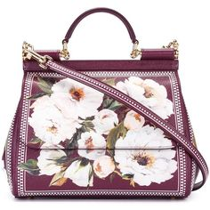 Dolce & Gabbana \'Sicily\' Tote ($2,359) ❤ liked on Polyvore featuring bags, handbags, tote bags, white tote bag, white tote handbags, white handbags, pattern tote bag and tote purses