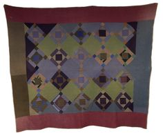 Wool Amish quilt