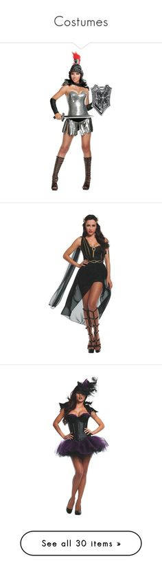 Costumes by rosaregaler on Polyvore featuring women's fashion, costumes, warrior costume, adult warrior costume, adult halloween costumes, white costumes, starline, costume, sexy women halloween costumes and sexy lady costumes