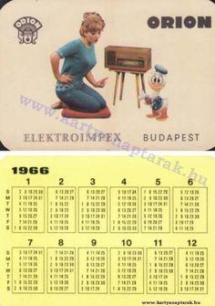 1966 - 1966_0025 - Régi magyar kártyanaptárak