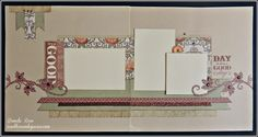 layout by Brenda Rose using CTMH Huntington paper