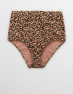 Comfy nylon with the right amount of stretch/Stand out in the best, bold prints Vintage Bikini, Vintage Swimsuits, Cute Swimsuits, High Waisted Bikini Bottoms, Swim Bottoms, Bikini Tops, Cute High Waisted Bikinis, Girls Football Boots, Surfer Girl Style