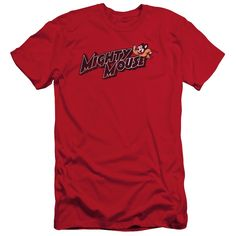 """Checkout our #LicensedGear products FREE SHIPPING + 10% OFF Coupon Code """"Official"""" Mighty Mouse / Might Logo-short Sleeve Adult 30 / 1 - Mighty Mouse / Might Logo-short Sleeve Adult 30 / 1 - Price: $29.99. Buy now at https://officiallylicensedgear.com/mighty-mouse-might-logo-short-sleeve-adult-30-1"""
