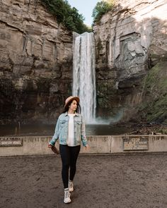Waterfall in the Finger Lakes, New York: Top road trip ideas from NYC. From a lakeside weekend getaway in the Adirondack Mountains to a food-filled trip to Montreal, read on for 10 epic ideas for road trips from NYC in any season. | New York City Road Trips | Road Trips From NYC | Best Road Trips Upstate New York | Best Road Trips From New York | Road Trip Ideas NYC Adirondack Mountains, City Road, Upstate New York, Weekend Getaways, Travel Photos, Travel Inspiration, Travel Photography, Road Trip, Nyc