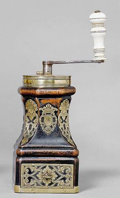 COFFEE MILL, possibly Flanders/Northern France, - by Koller Auctions