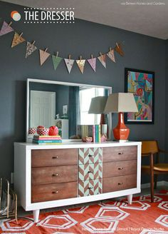 Herringbone Pattern Wall Stencils | Royal Design Studio