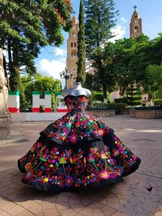 Mariachi Quinceanera Dress, Mexican Quinceanera Dresses, Quinceanera Planning, Quinceanera Themes, Quince Dresses Mexican, Vestido Charro, Xv Dresses, Traditional Mexican Dress, Quince Themes