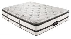 Evie Plush PillowTop Cal King Matt $2,799.00 Sku:147035 The Evie King is built and designed with technology and advanced elements. The Evie AirCool Memory Foam in infused with a Micro Diamond technology. This allows heat to move away the the body to create a cool comfortable good nights rest. The temperature on the fabric is controlled by a layer of patent-pending oriented TENCEL fibers created to push away the body heat from the surface through the model yarn material to allow a comfortable… Twin Xl Mattress, Pillow Top Mattress, Queen Mattress, Simmons Beautyrest, California King Mattress, How To Match Foundation, Push Away, Black Luxury