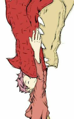 Igneel and Natsu from Fairy Tail. I made a mistake before :P so cute I want this to be real I want fairy tail to be real and I would go there like a lot Fairy Tail Ships, Fairy Tail Dragon, Anime Fairy Tail, Fairy Tail Art, Fairy Tail Love, Fairy Tail Guild, Fairy Tales, Natsu Fairy Tail, Fairy Tail Happy