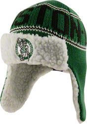 Boston Celtics '47 Brand Yeti Earflap Hat #celtics
