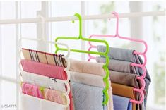 Jars & Container Useful Clothing Hangers Pack Of 3  *Material* Plastic  *Description* It Has 3 Pieces Of Clothing Hangers  *Sizes Available* Free Size *   Catalog Rating: ★3.9 (4713)  Catalog Name: Useful Assorted Home & Kitchen Utilities Vol 5 CatalogID_78534 C130-SC1639 Code: 132-694770-