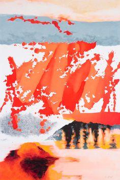 MELTING POINT 2013 (100 x 65 cm) encre, pastel gras sur papier