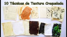 10 Tecnicas de Textura Craquelada