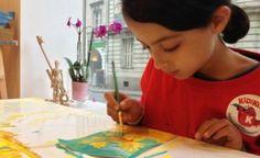 Les kidi-reporters ont testé un stage de peinture à la Petite Académie à Nantes, on vous raconte !