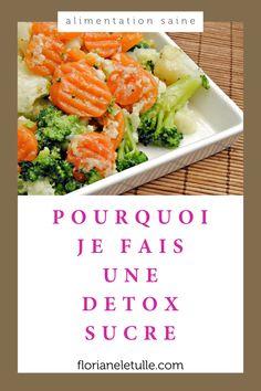 Pourquoi je fais une detox sucre ? Je t'explique dans  cette vidéo pourquoi j'ai pris cet engagement et ce qu'il a apporté à ma vie et mon business #alimentation #mangersain #detox Nutrition, C'est Bon, Carrots, Engagement, Vegetables, Business, Food, Eating Clean, Healthy Diet Foods
