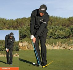 Phil Mickelson: How To Hit 2 Basic Pitches and Chips. Golf Chipping Tips for Your Short Game. golf chipping tips Golf Chipping Tips, Golf Club Grips, Golf Putting Tips, Phil Mickelson, Golf Videos, Golf Instruction, Golf Tips For Beginners, Golf Exercises, Workouts