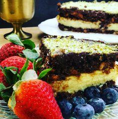 Čokoládovo-kokosový dort Cheesecake, Desserts, Food, Tailgate Desserts, Deserts, Cheesecakes, Essen, Postres, Meals