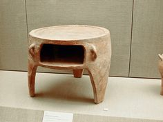 The Stream of Time: The Minoans: The Common People - A terracotta oven from the Minoan colony of Akrotiri on the island of Thera, 1,700-1,600 BCE