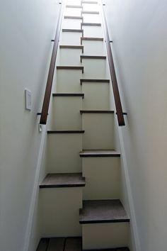 estas escaleras en particular me dan mucho miedo, pero reconozco que son bonitas.