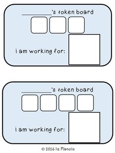 Token Boards and Other Behavior Visuals for the Special Education Classroom - The Autism Vault