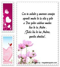 descargar frases bonitas para el dia de la Madre,descargar mensajes para el dia de la Madre: http://www.megadatosgratis.com/mensajes-para-tu-abuela-en-el-dia-de-la-madre/