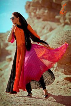 Fashion in Iran.