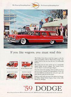 1959 Dodge Custom Sierra Station Wagon